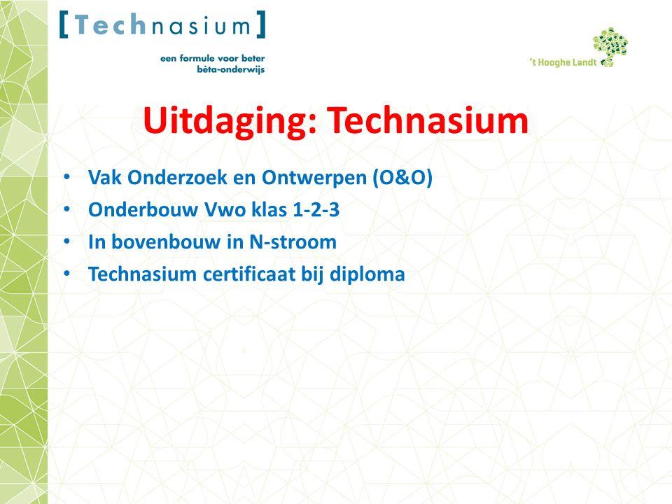 Uitdaging: Technasium