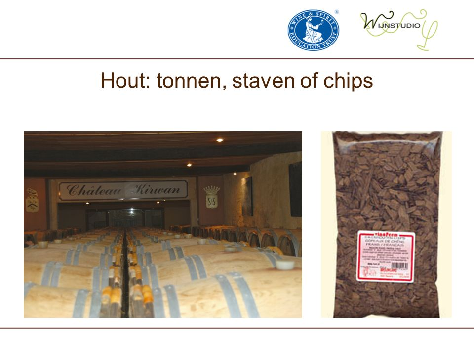 Hout: tonnen, staven of chips