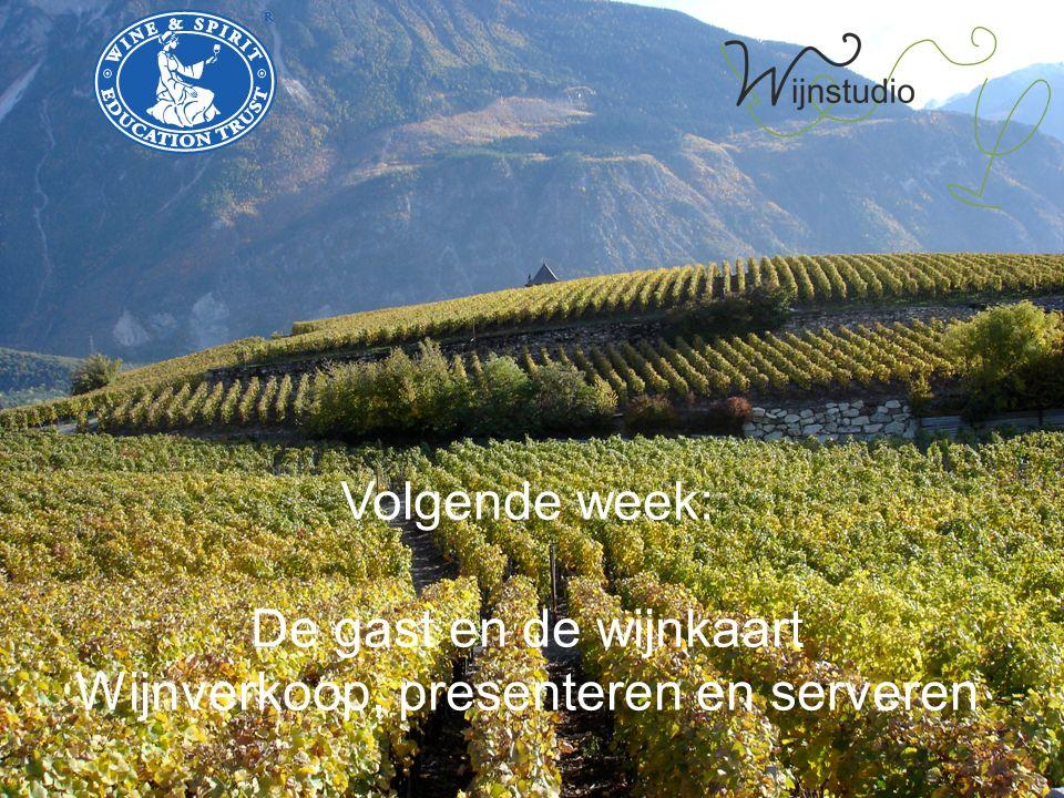 Wijnverkoop, presenteren en serveren