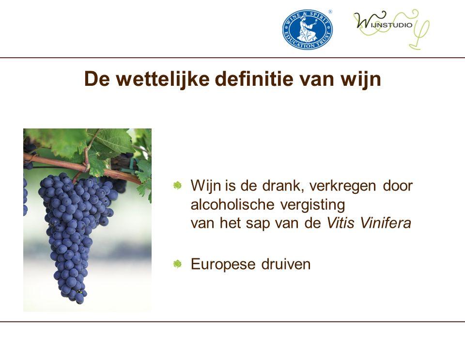 De wettelijke definitie van wijn