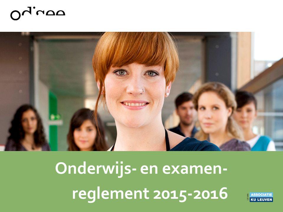 Onderwijs- en examen-reglement 2015-2016