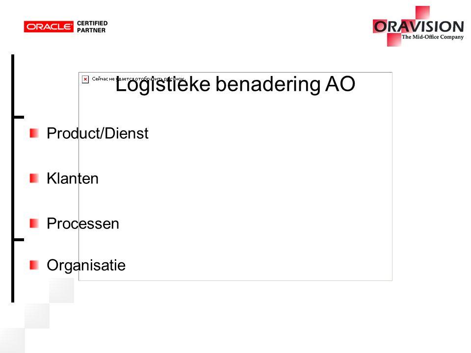 Logistieke benadering AO