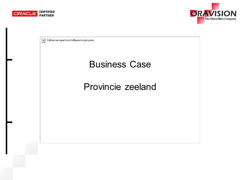 Business Case Provincie zeeland