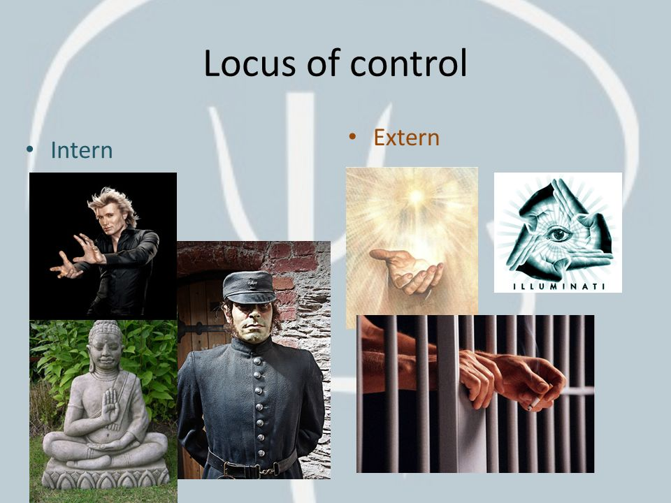 Locus of control Extern Intern