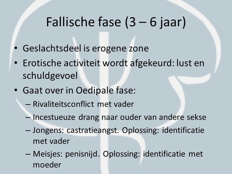 Fallische fase (3 – 6 jaar)