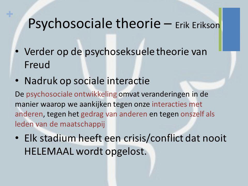 Psychosociale theorie – Erik Erikson