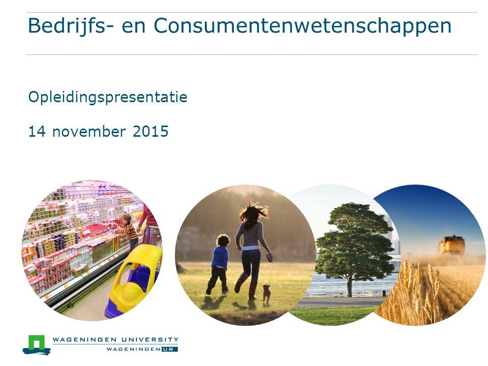 Bedrijfs- en Consumentenwetenschappen