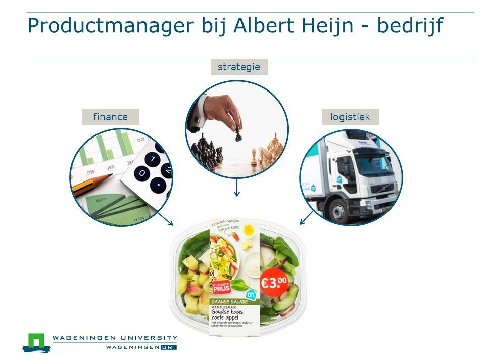 Productmanager bij Albert Heijn - bedrijf