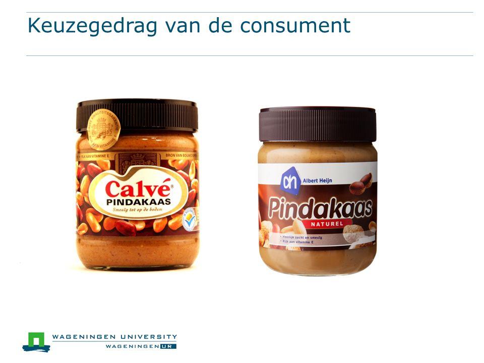 Keuzegedrag van de consument