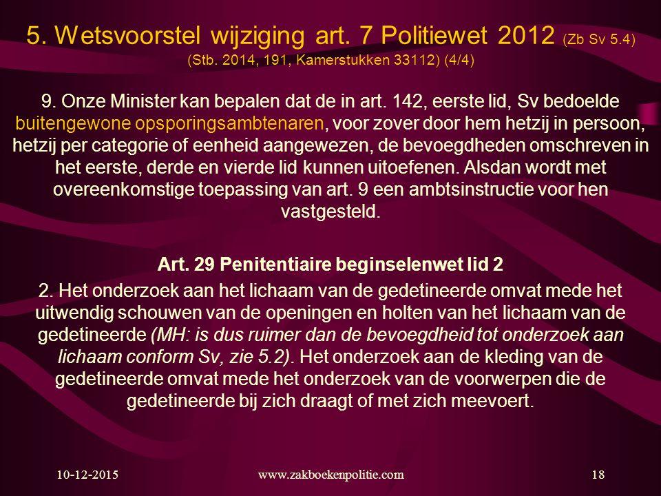 Art. 29 Penitentiaire beginselenwet lid 2