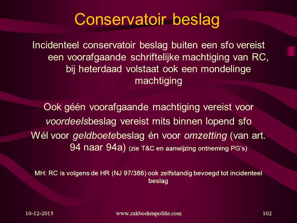 Conservatoir beslag