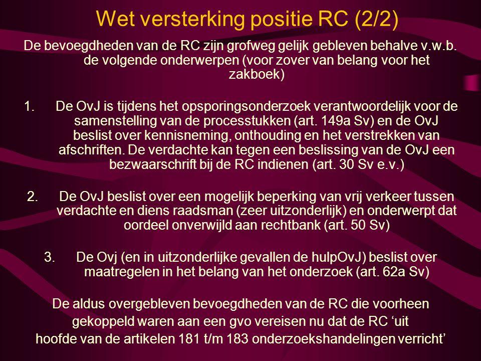 Wet versterking positie RC (2/2)