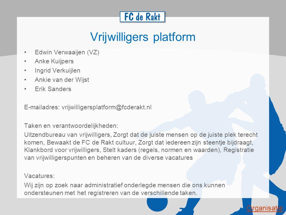Vrijwilligers platform