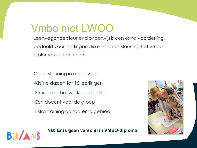 Vmbo met LWOO
