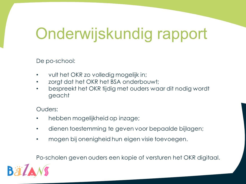 Onderwijskundig rapport