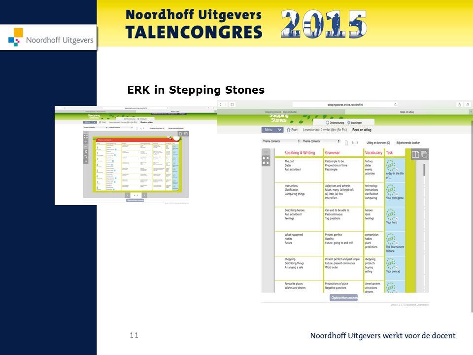 ERK in Stepping Stones