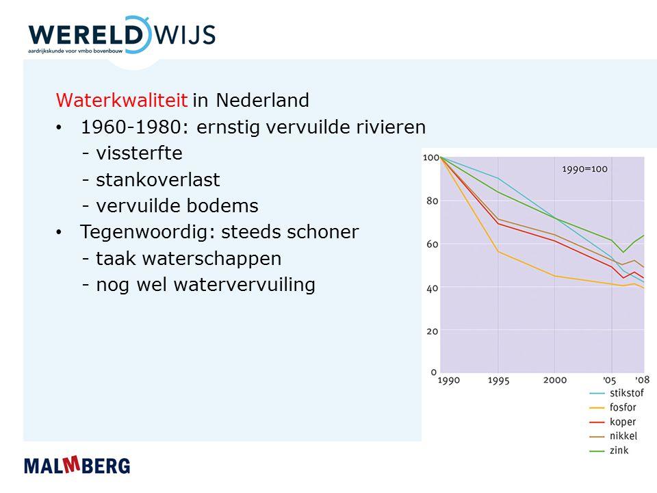 Waterkwaliteit in Nederland