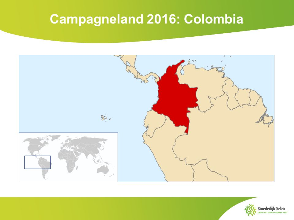 Campagneland 2016: Colombia