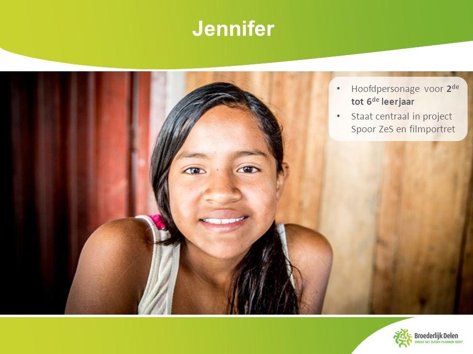 Jennifer Hoofdpersonage voor 2de tot 6de leerjaar