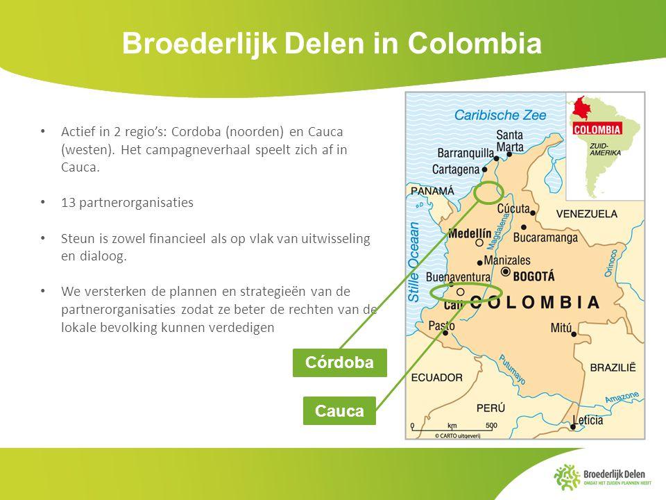 Broederlijk Delen in Colombia