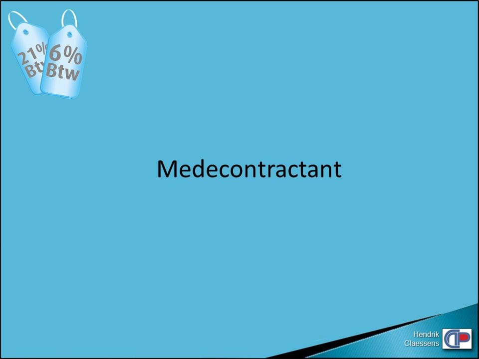Medecontractant