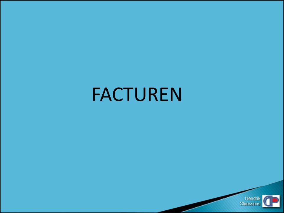 FACTUREN