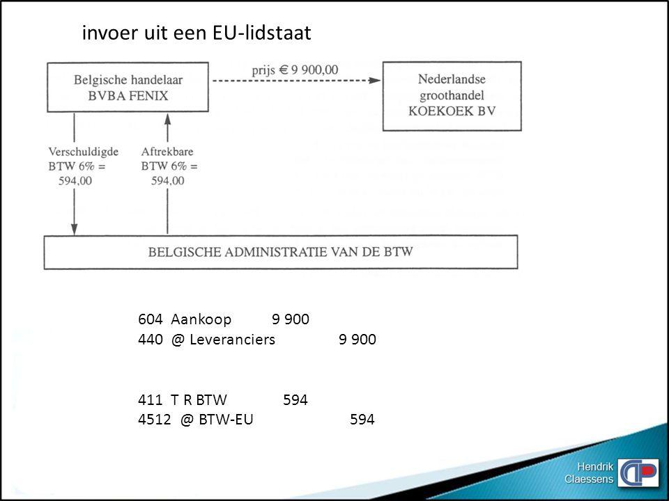 invoer uit een EU-lidstaat