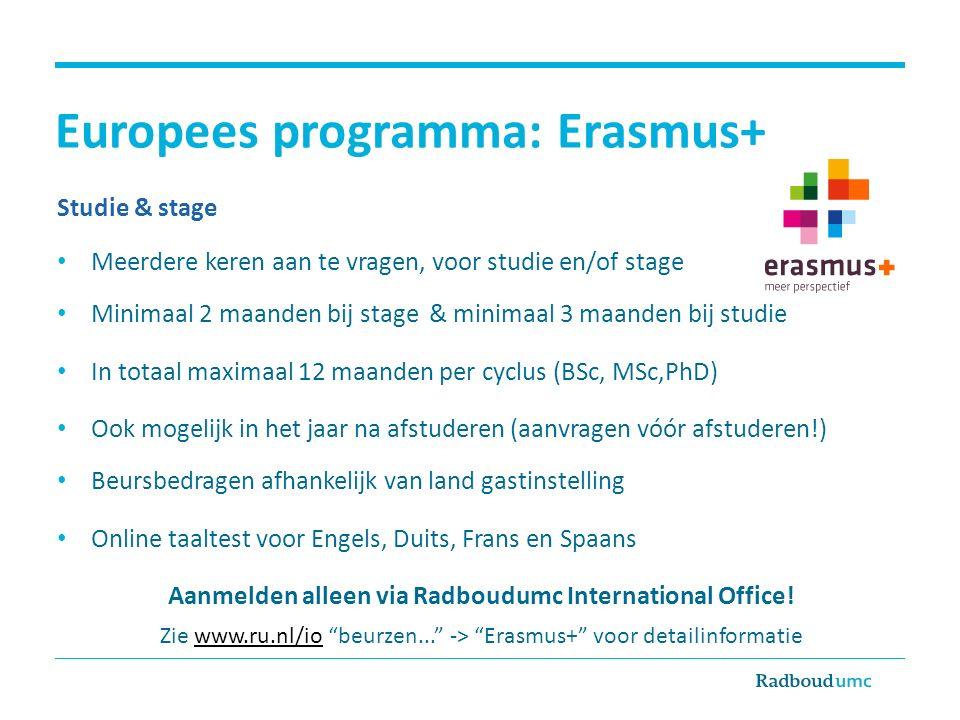 Europees programma: Erasmus+