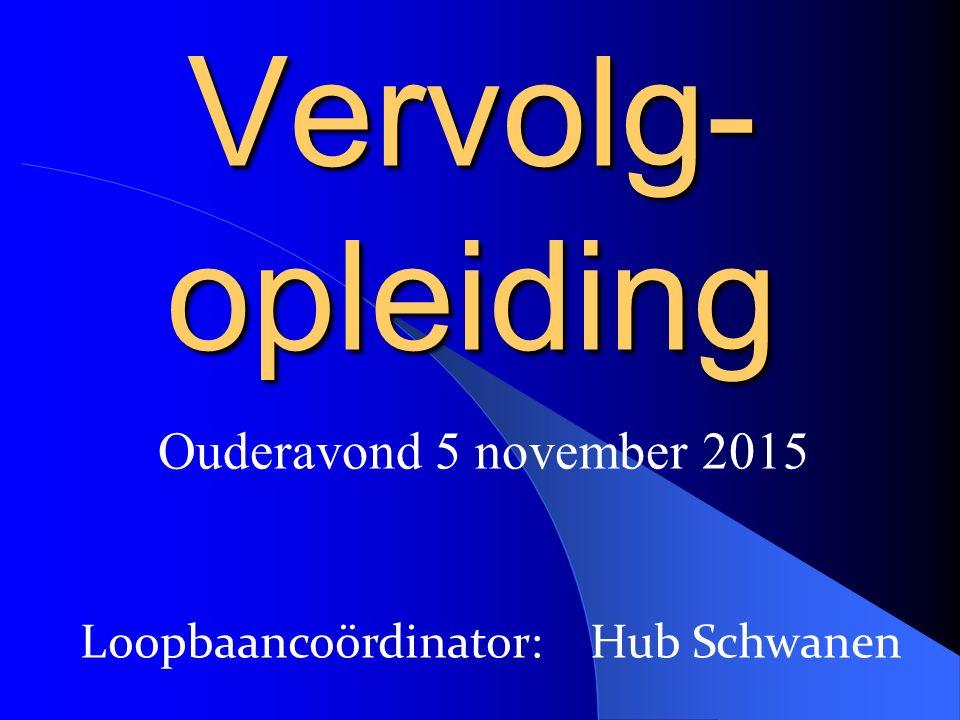 Loopbaancoördinator: Hub Schwanen