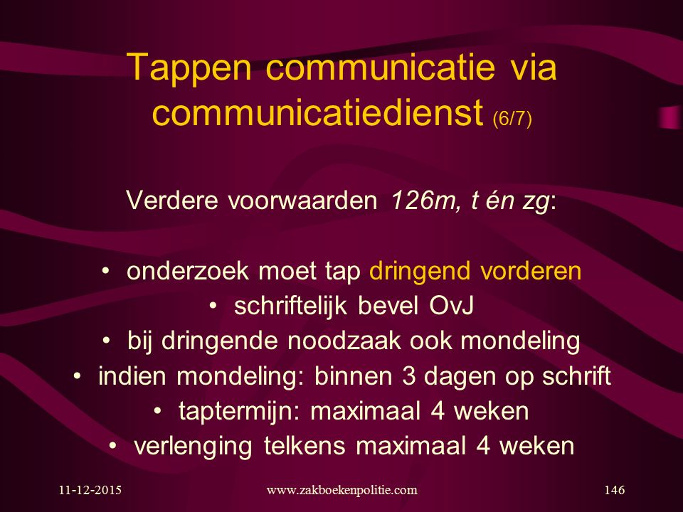 Tappen communicatie via communicatiedienst (6/7)