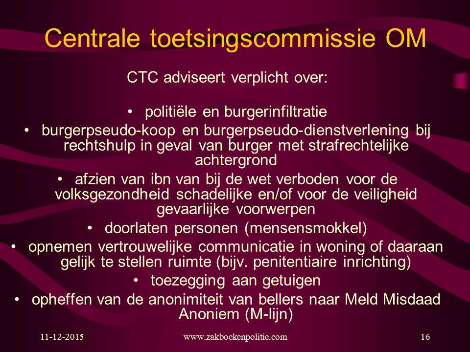 Centrale toetsingscommissie OM