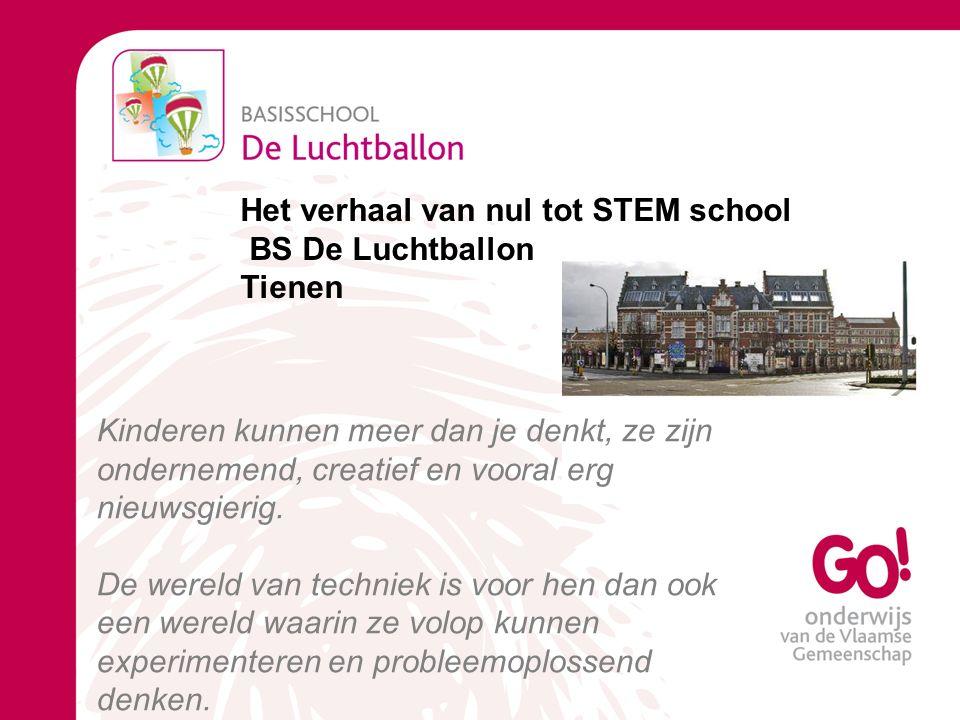 Het verhaal van nul tot STEM school