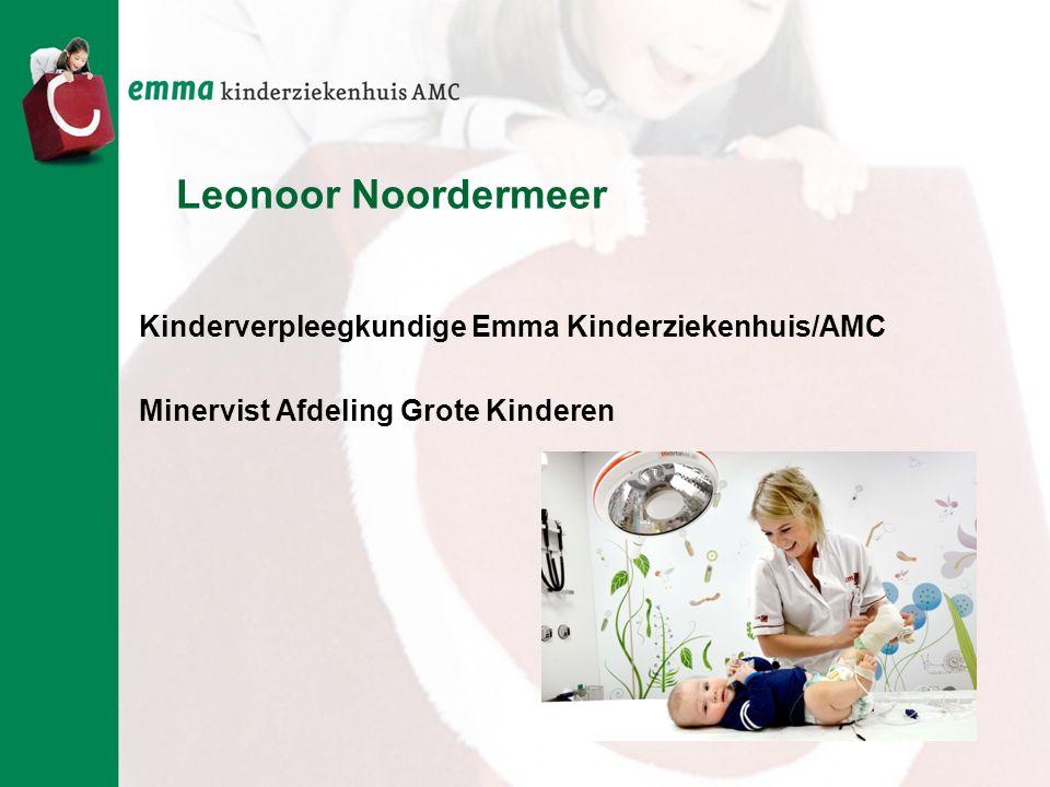 Leonoor Noordermeer Kinderverpleegkundige Emma Kinderziekenhuis/AMC