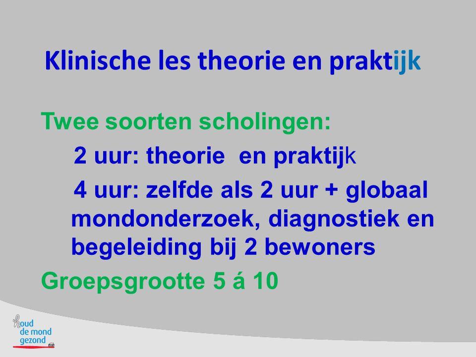 Klinische les theorie en praktijk