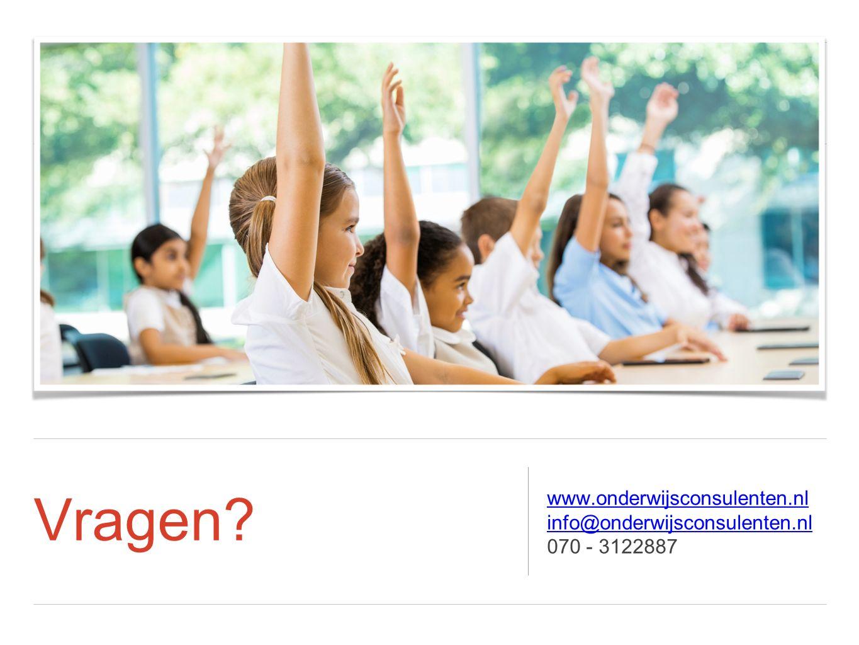 Vragen www.onderwijsconsulenten.nl info@onderwijsconsulenten.nl