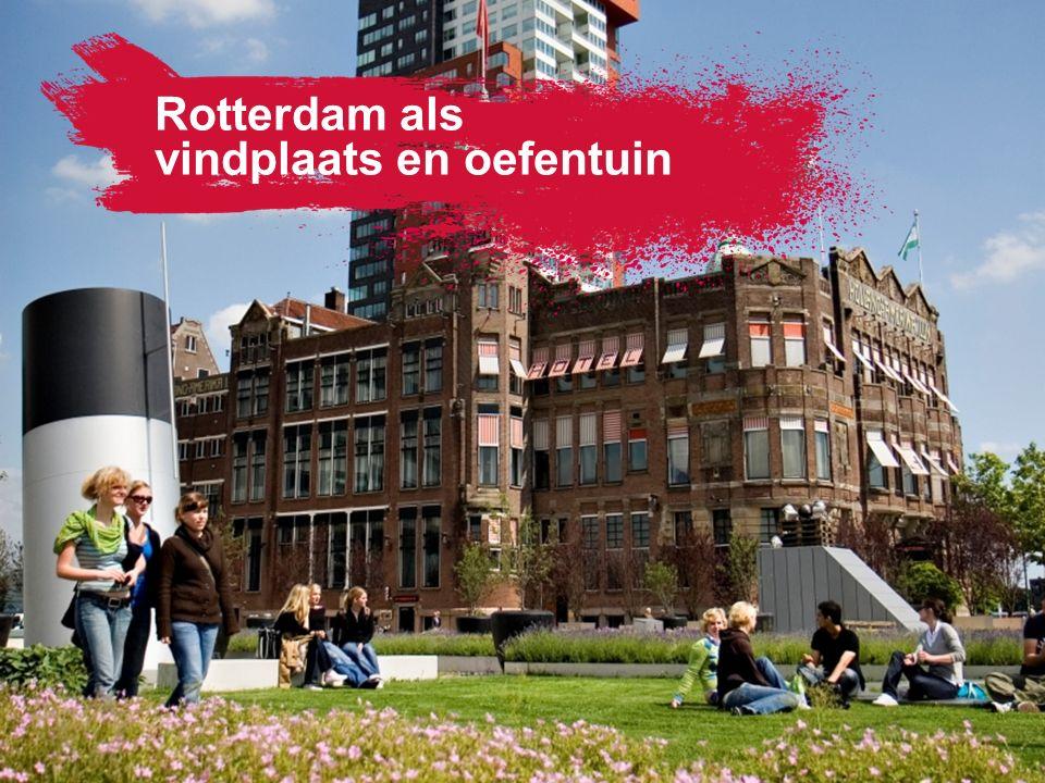 Rotterdam als vindplaats en oefentuin