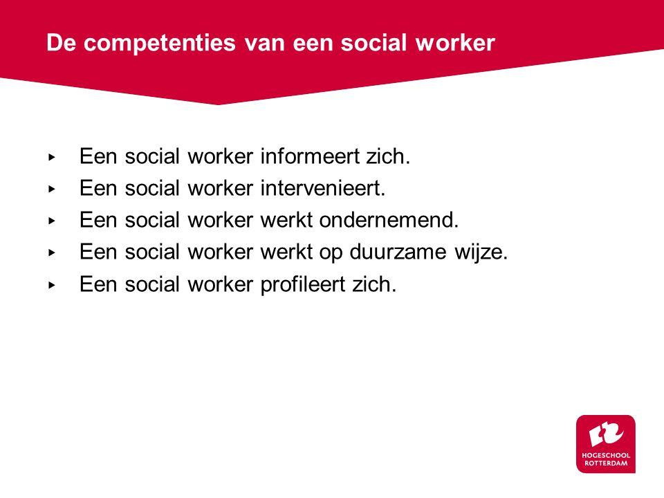 De competenties van een social worker