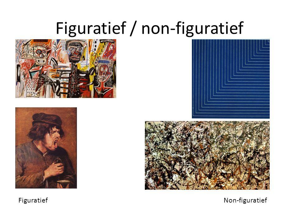 Figuratief / non-figuratief