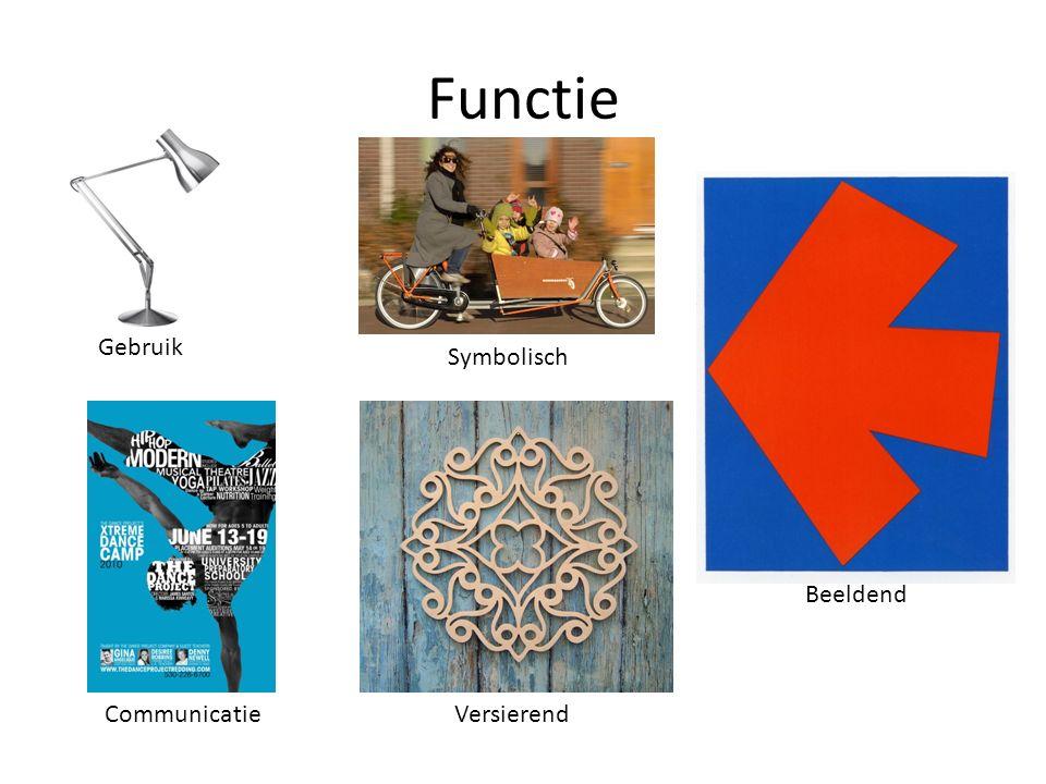 Functie Gebruik Symbolisch Beeldend Communicatie Versierend
