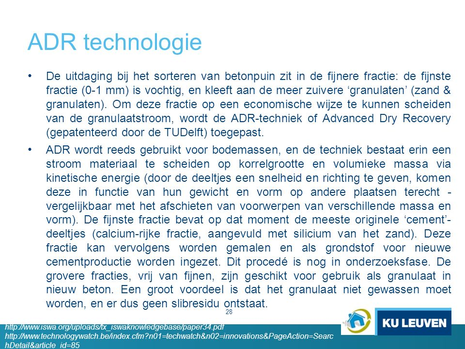 ADR technologie