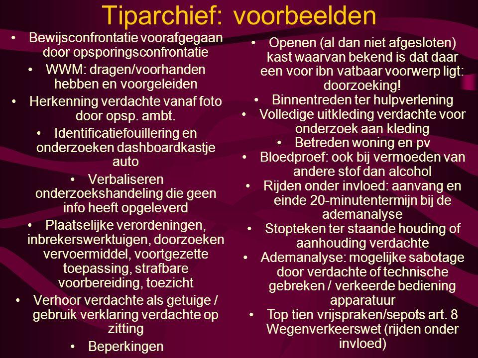 Tiparchief: voorbeelden