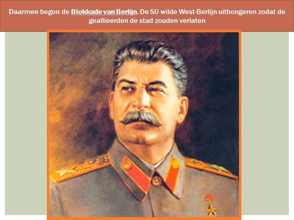 Daarmee begon de Blokkade van Berlijn