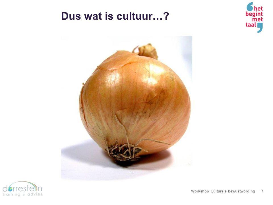 Verschillende lagen in cultuur