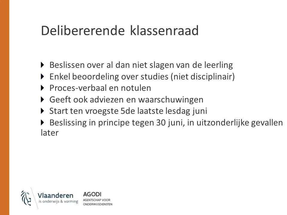 Delibererende klassenraad