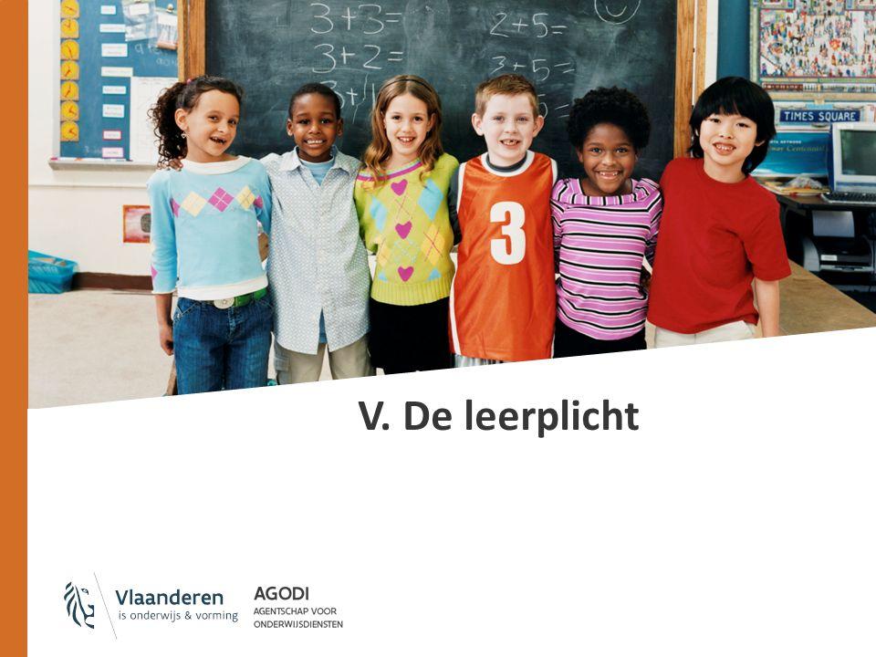 V. De leerplicht