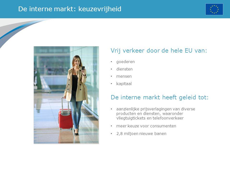 De interne markt: keuzevrijheid