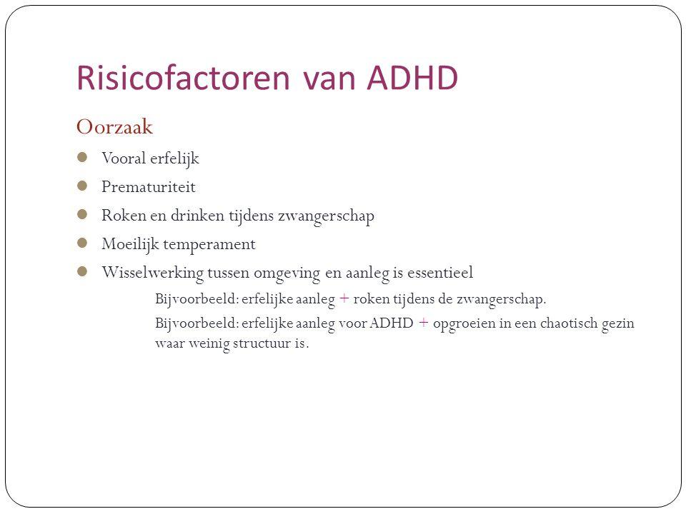 Risicofactoren van ADHD