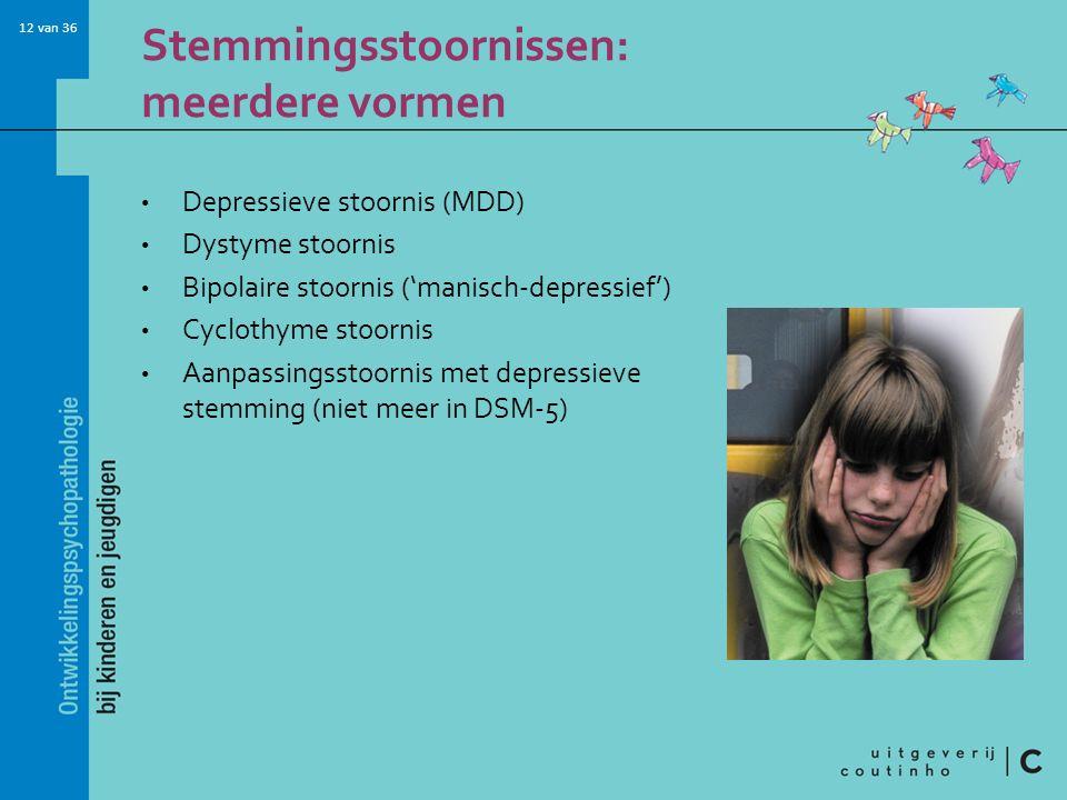 Stemmingsstoornissen: meerdere vormen