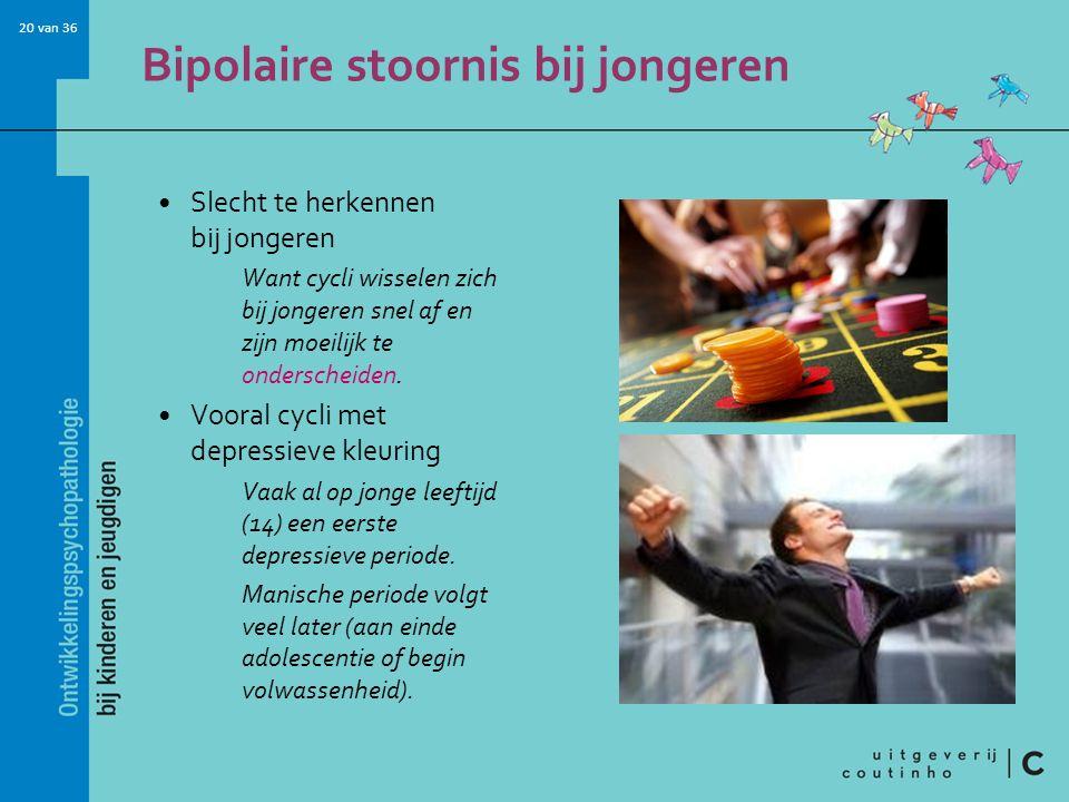 Bipolaire stoornis bij jongeren