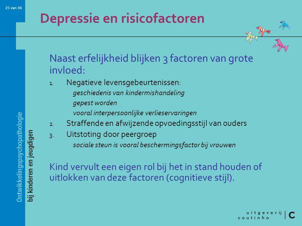 Depressie en risicofactoren